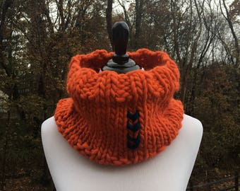 Koselig Cowl - Orange