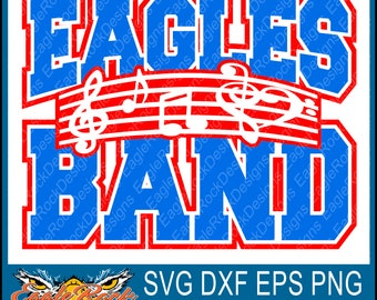 Eagles Band| Music Notes| SVG| DXF| EPS| Png| Cut File| Eagles| Band| Mom| Dad| Vector| Silhouette| Cricut| Digital Download