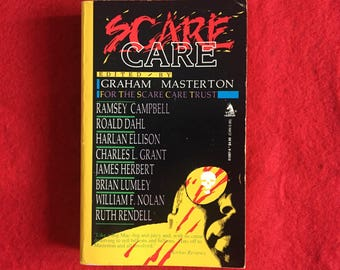 SCARE CARE (Paperback Collection of Horror Stories Edited by Graham Masterton)
