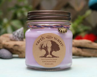 Enchanted Dreams - 8 oz Soy Candle - Hand Poured Soy Candle