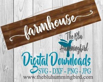 Farmhouse SVG, Rustic SVG, Farmhouse sign svg, Kitchen Svg, Farm House, Farmhouse decor, Cricut Cut files, Silhouette svg