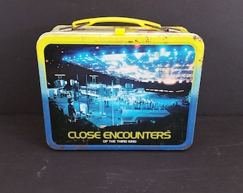 1978 Close Encounters of the Third Kind Metal Aladdin Lunch Box