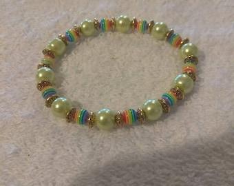 Cute rainbow bracelet