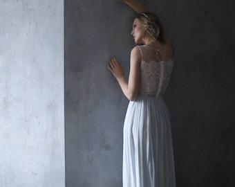 Sale wedding dress, Sample Sale, Blue wedding dress, Blue bridesmaid dress, Summer wedding dress, Light blue dress, 0106 // 2017