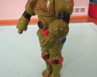 Inhumanoids Herc Armstrong Action Figure Hasbro 1986 Free Shipping