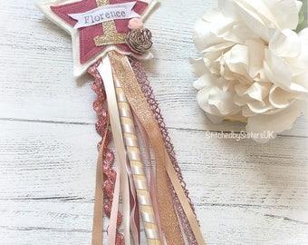 1st birthday fairy wand birthday wand Handmade personalised birthday  keepsake