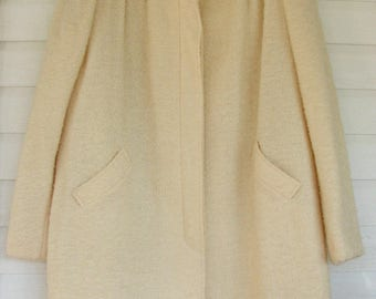 1980s Lilli Ann Coat Adolph Schuman Swing Car Coat