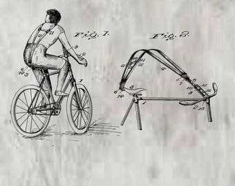 Bicycle Harness Patent #636108 dated October 31, 1899.