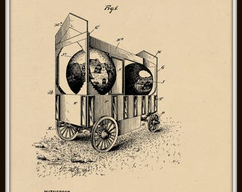Advertising Vehicle Patent #771617 dated October 4, 1904.