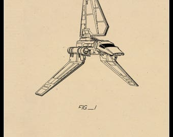Imperial Shuttle Patent #277166 dated January 8, 1985.
