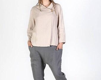 Linen cardigan | Etsy