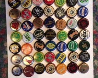 50 Beer bottle caps