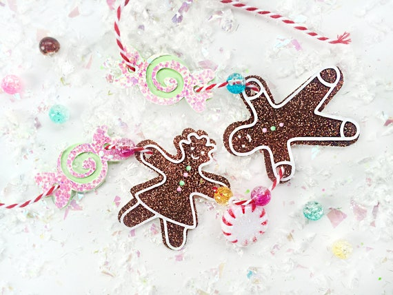 Gingerbread Christmas Necklace Kit