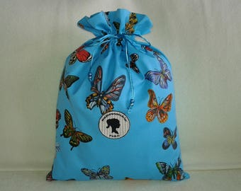 Butterflies in my turquoise wrap party