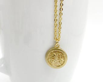 Scorpio pendant etsy scorpio necklace scorpio zodiac necklace brass astrological charm w gold plated chain scorpio mozeypictures Images