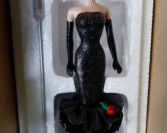 Danbury Mint Solo in the Spotlight Barbie Figure with COA
