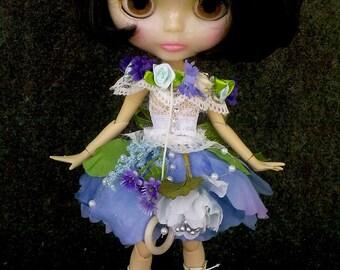 Blythe clothes, dress Blythe, blythe dress, Fairy Flowers, clothes Blythe, Blythe clothes,