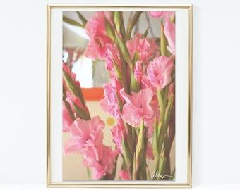 """Original Flower Photo Print """"Sense of Home"""" - Home Decor"""