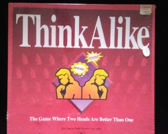 Think Alike Board Game. Sealed 1992 Table Game.