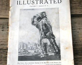 """Vintage guidebook """"New York illustrated""""  1910"""