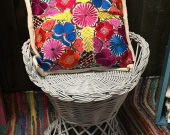 Embroidered Pillowcases from Chiapas