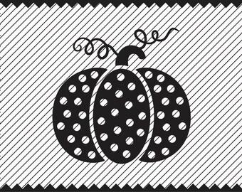 Polka Dot Pumpkin Etsy
