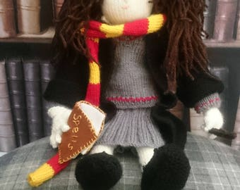 Hand-Knitted Hermione Granger