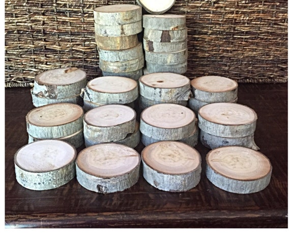 Basket Weaving Supplies Denver Co : Set of or aspen slabs quot wood slices rustic