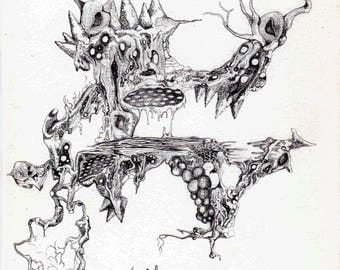 Scandalnavia - Open edition surrealist prints