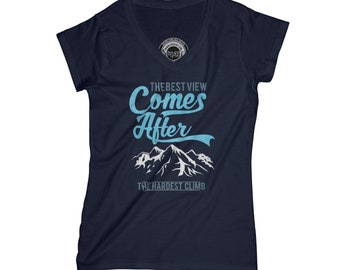 Mountains t shirt adventure tshirt hiking shirt mountaineer t-shirt journey t shirt funny t-shirt with quotes motivation shirt   AP8