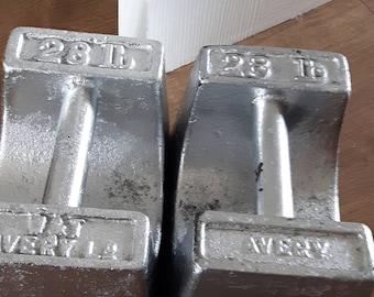 Vintage Avery Weights / Door Stops