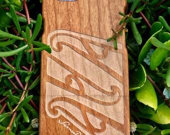 Wood iPhone case, Wood iPhone 7 case, Maori, Polynesian designs, Wood iPhone 7 case, Wood iPhone6 case, iPhone 6s case