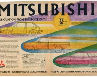 Mitsubishi Motors Ad (81-PE-05)