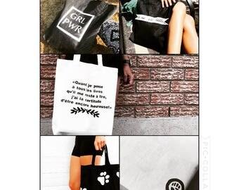 Personalized tote bag - Sac personnalisé