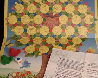 Vintage 1988 Ravensburger Baby Bird Game - NEARLY COMPLETE