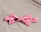 Pink Bow Tie, Derby Horses Bow Ties, Derby Tie, Horse Bow Tie, Horse Racing, Kentucky, Fathers Day Bow Tie, Men's Bow Tie, Mens Bow Tie