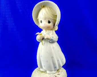 He Loves Me Precious Moments Figurine
