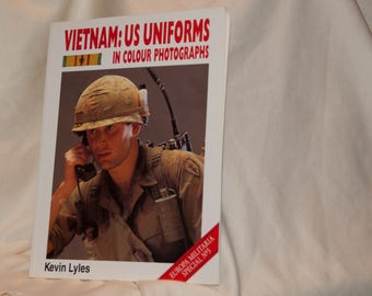 Vietnam US Uniforms in Color Photographs, Kevin Lyles 1994 Softcover Book Europa Militaria Special No 3, Military Visual Reference