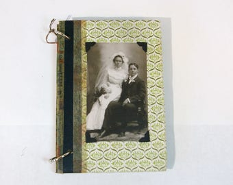 Vintage Book Journal Scrapbook Wedding Bridal