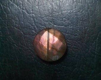 Labradorite Round Shape Faceded Briolette 16 MM