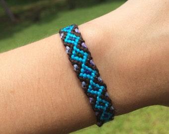 Blue Diamond Friendship Bracelet