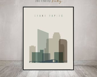 Skylines earth tones