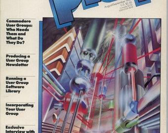 Commodore Power Play Magazine Aug Sept 1984 Good Reader Copy