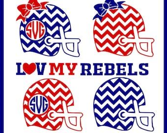 Love my rebels svg file, football svg, tail gating svg, Ole Miss svg, dxf file, silhouette studio file, cricut design space svg
