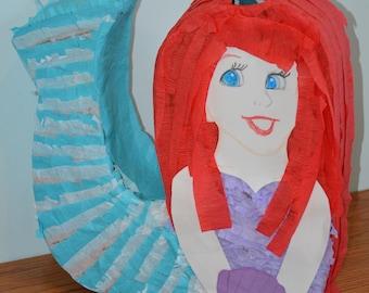 Mermaid Piñata - Made to order