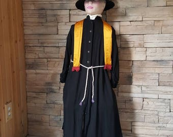 Priest costume for kids/cassock /clergy /religious costume for children  age 6 to 10 years/rare costume