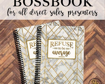 BOSSBOOK Business Planner for ALL Direct Sales Companies