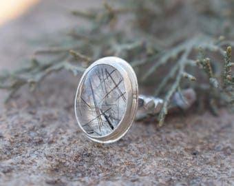 Rutile Quartz Ring - For Her