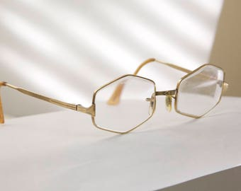 Antique Optical frames /Gold filled ! AO /1920s to 1940s  /rhvan