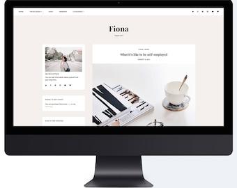 Fiona | Responsive Premade Blogger Template + Free Installation